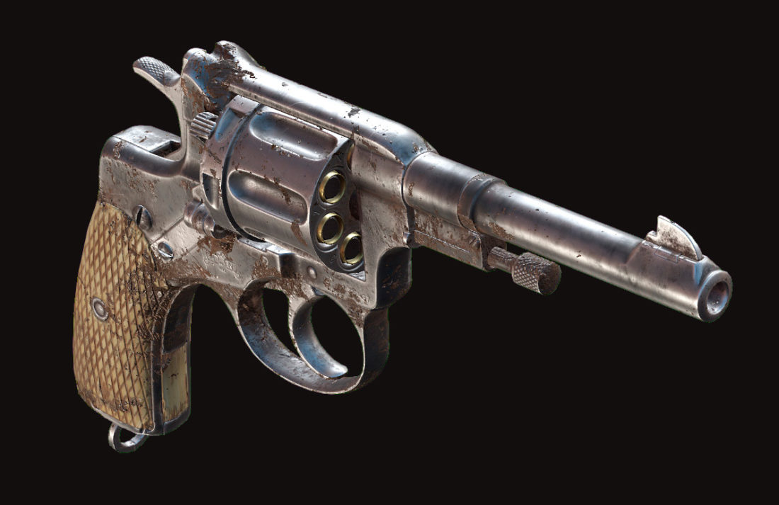 Револьвер Nagant M1895 Officer в Hunt: Showdown