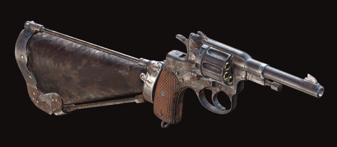 Револьвер Nagant M1895 Precision в Hunt: Showdown