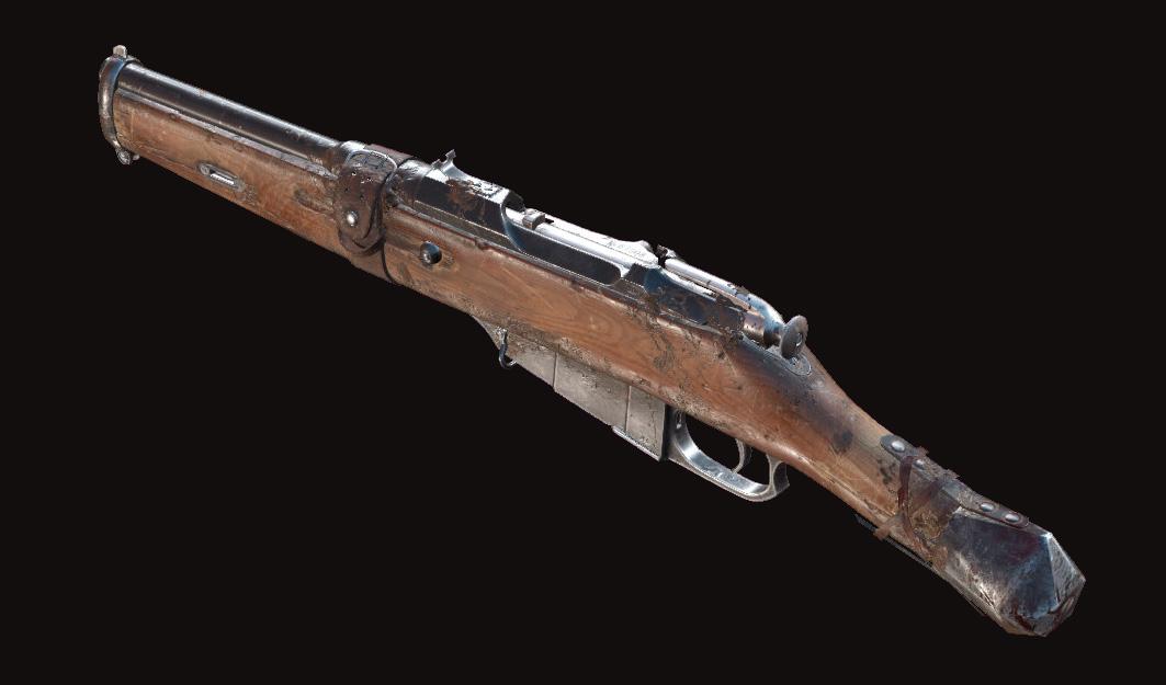 Винтовка Mosin-Nagant M1891 Obrez Mace в Hunt: Showdown