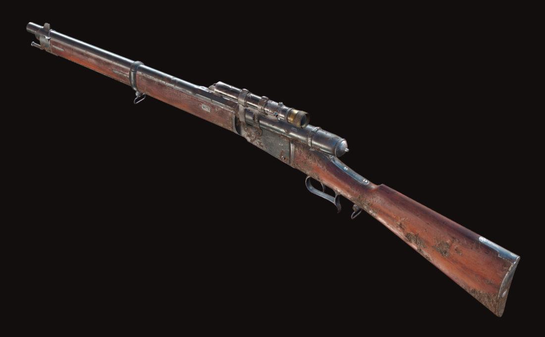 Винтовка Vetterli 71 Karabiner Deadeye в Hunt: Showdown