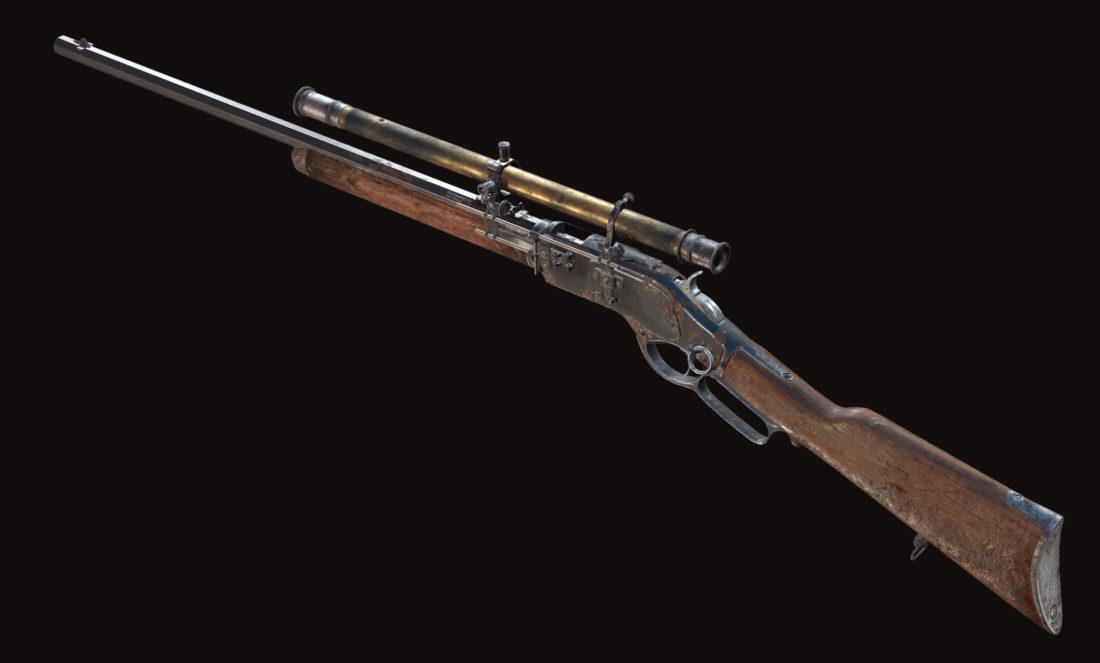 Винтовка Winfield M1873C Marksman в Hunt: Showdown