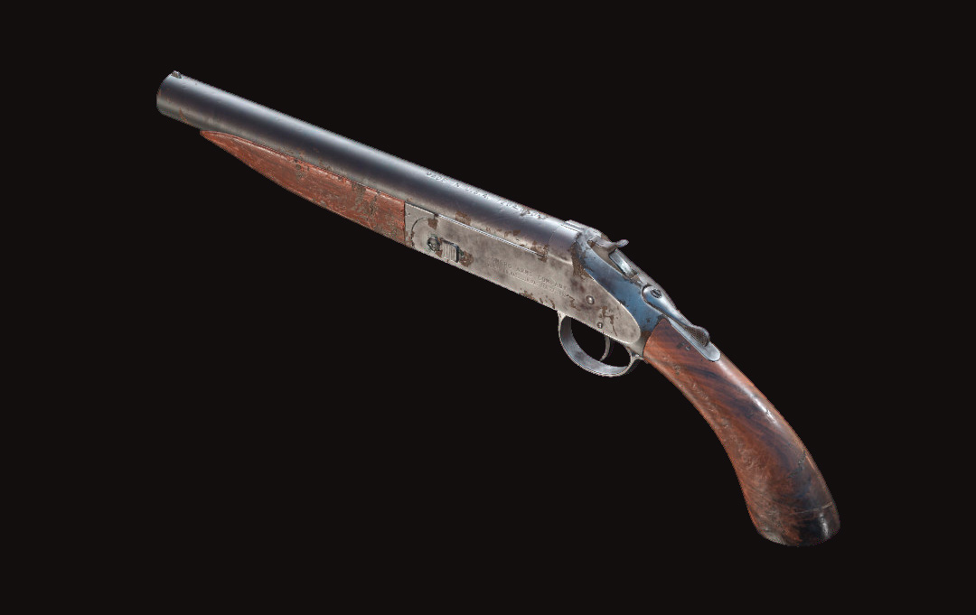 Дробовик Romero 77 Handcannon в Hunt: Showdown