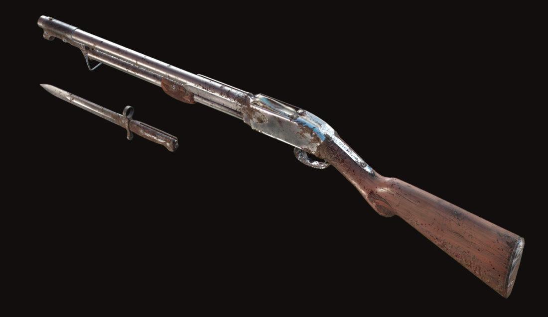 Дробовик Specter 1882 Bayonet в Hunt: Showdown