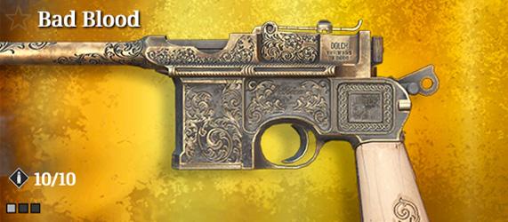 Легендарное оружие в Hunt: Showdown. Bad Blood для Dolch 96