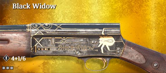 Легендарное оружие в Hunt: Showdown. Black Widow для Crown & King Auto-5