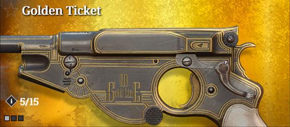 Легендарное оружие в Hunt: Showdown. Golden Ticket для Bornheim No. 3