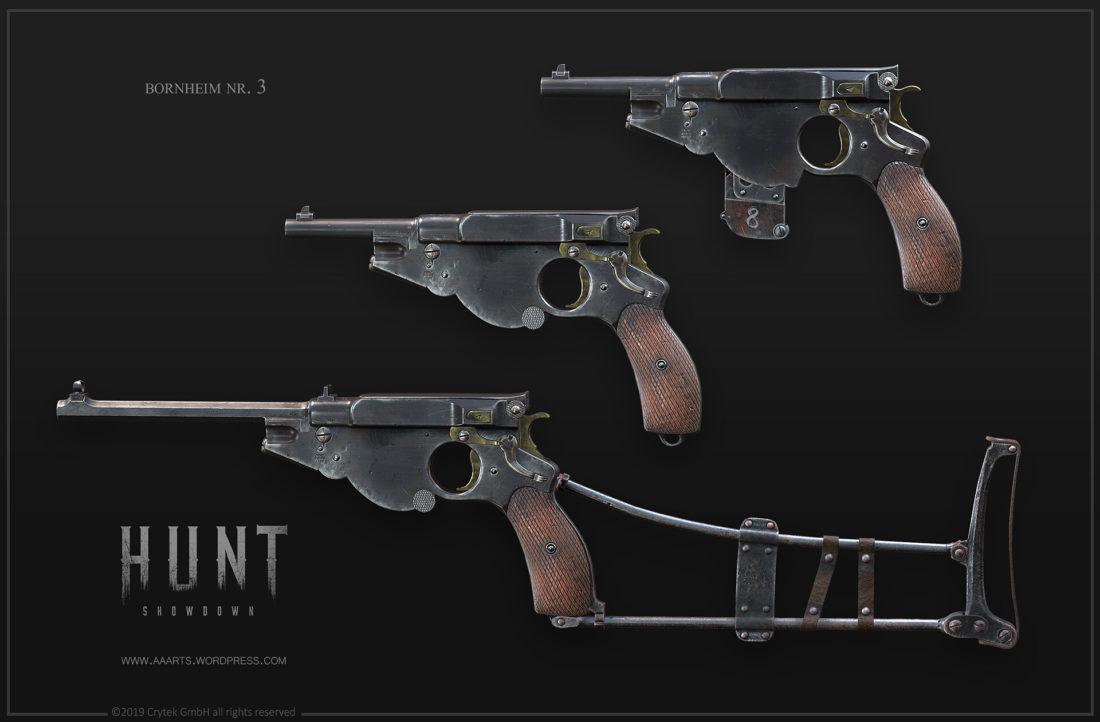 Пистолеты семейства Bornheim No.3. Автор - Alexander Asmus