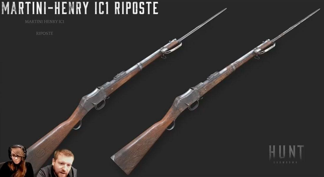 Martini-Henry IC1 Riposte