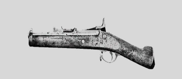 "Винтовка Springfield 1866 Compact в Hunt: Showdown. Изображение из ""Книги оружия"""