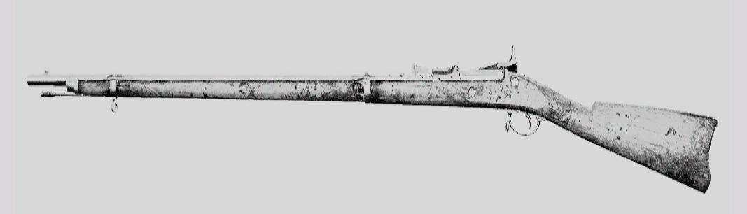 """Винтовка Springfield 1866 Trapdoor в Hunt: Showdown. Изображение из """"Книги оружия"""""""