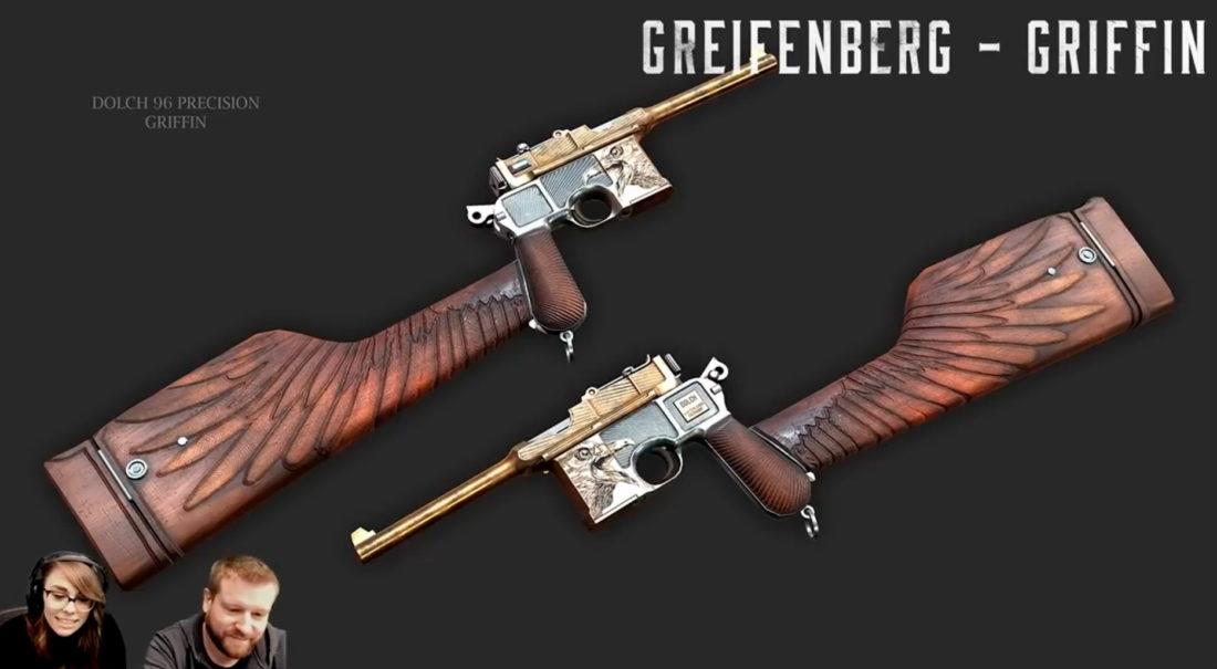 Легендарный облик Griffin для Dolch 96 Precision