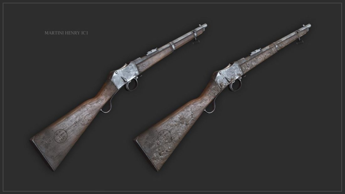 Семейство винтовок Martini-Henry IC1 в Hunt: Showdown