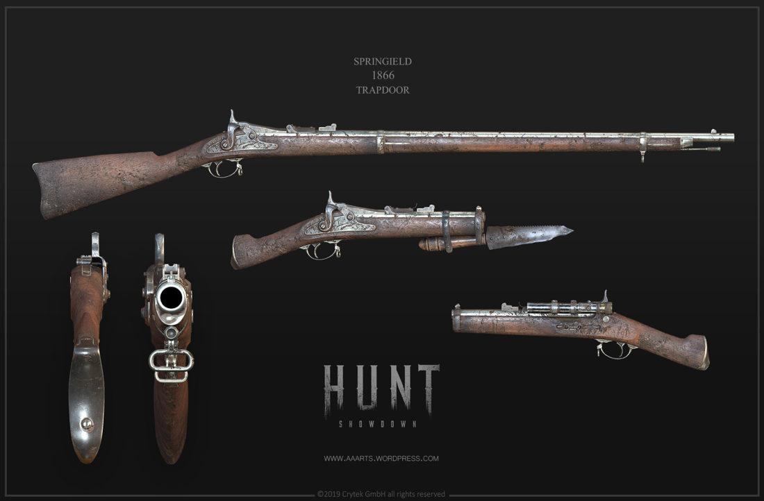 Семейство винтовок Springfield 1866 Trapdoor в Hunt: Showdown