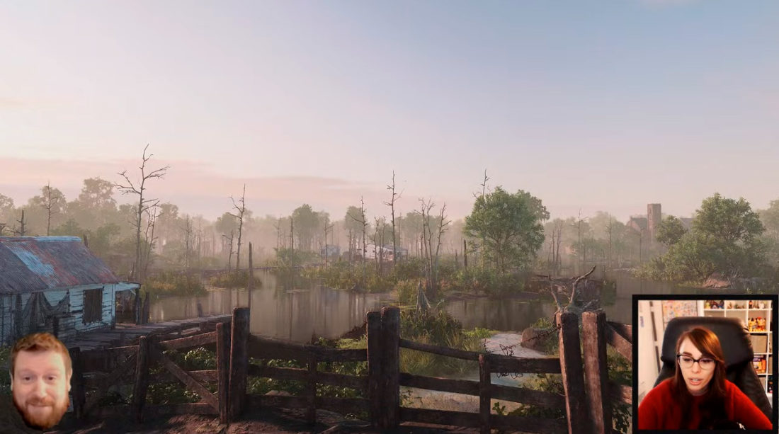 Закат в Луизиане