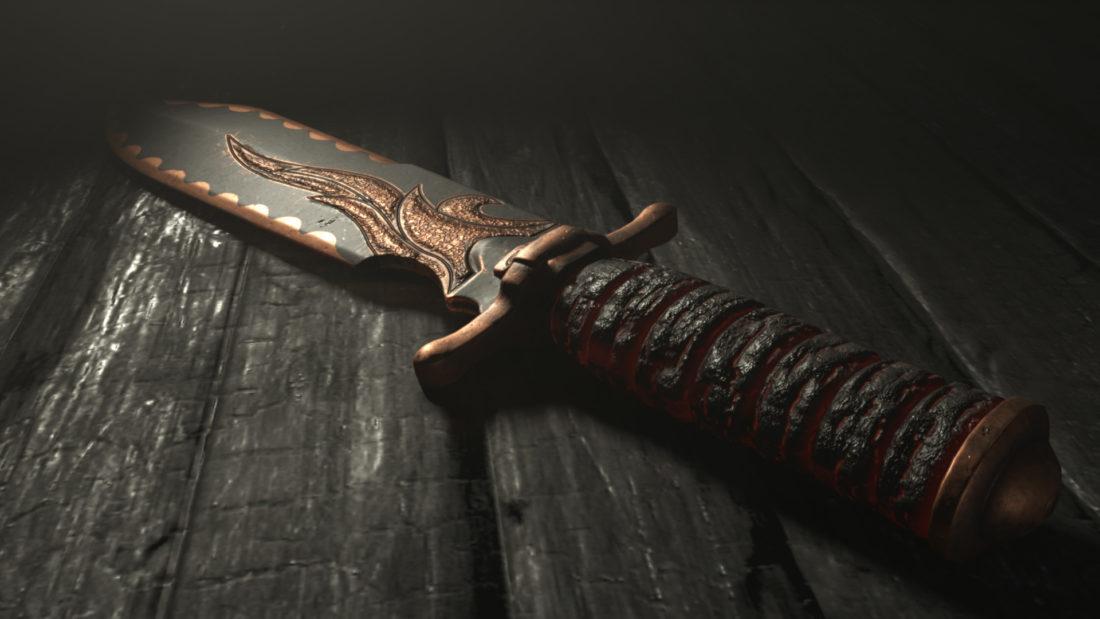 Легендарное оружие Algiers Phoenix (Heavy Knife) в игре Hunt: Showdown