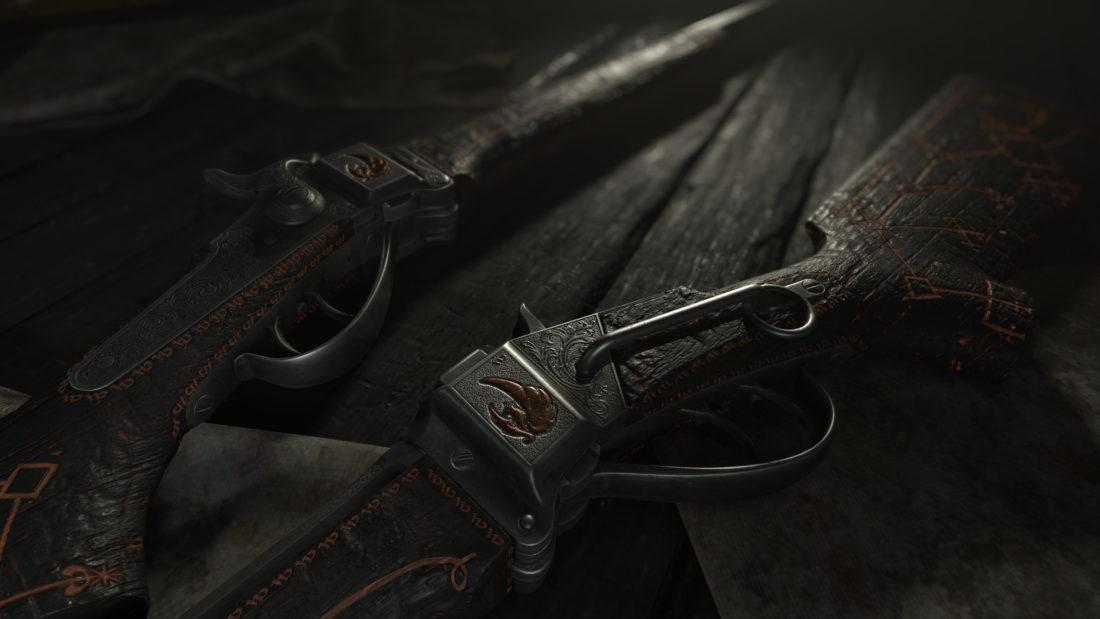 Легендарное оружие Fire Thorn (Sparks LRR) в игре Hunt: Showdown