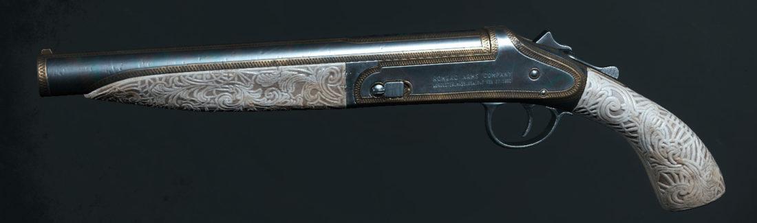 Легендарное оружие Antebellum Wit (Romero 77 Handcannon)