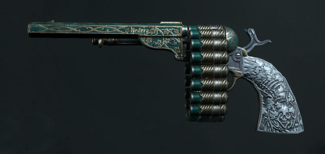 Легендарное оружие Hedera Mortiferum (Caldwell Conversion Chain Pistol) в игре Hunt: Showdown