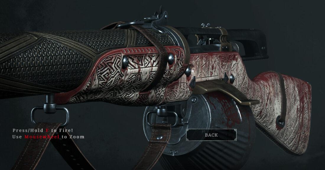 Легендарное оружие Baptismal Blood (Mosin-Nagant M1891 Avtomat) в игре Hunt: Showdown