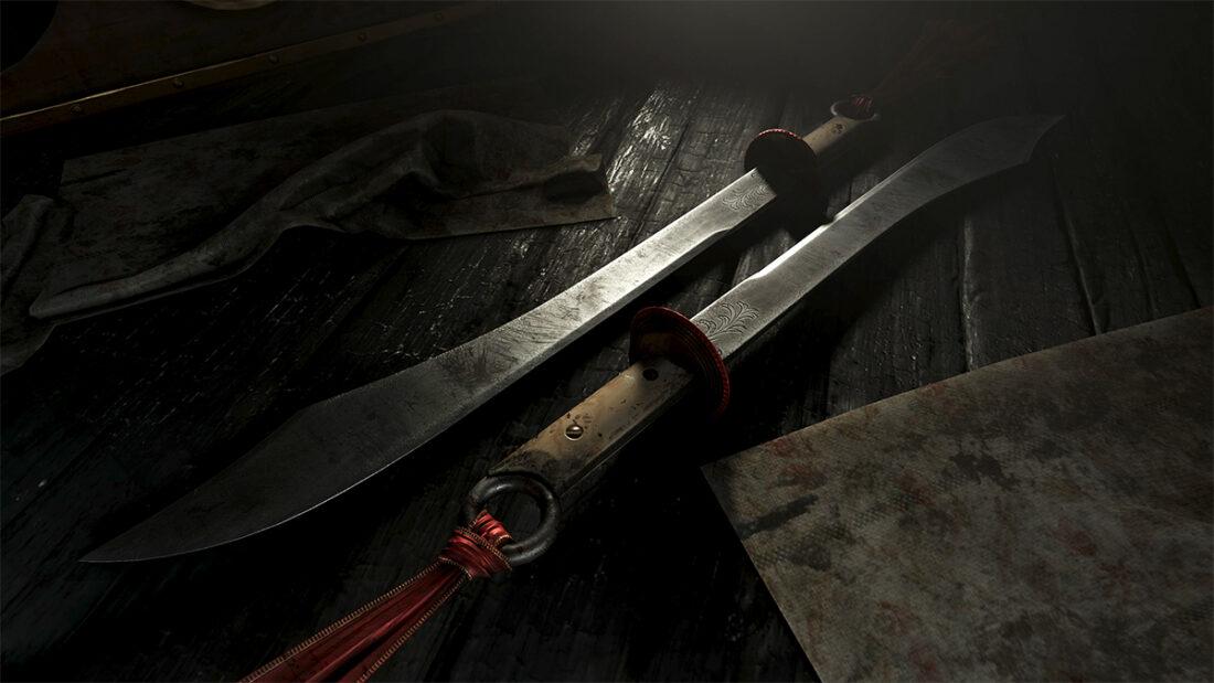 Легендарное оружие Blood Orchid (мачете) в игре Hunt: Showdown