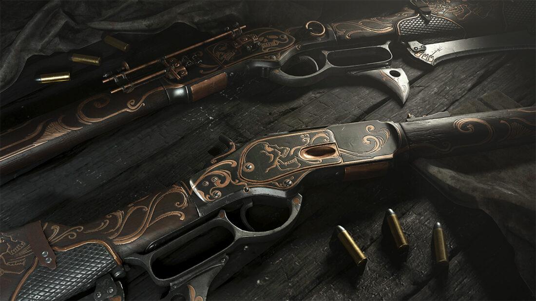 Легендарное оружие Death's Breath (Winfield M1873 Talon) в игре Hunt: Showdown