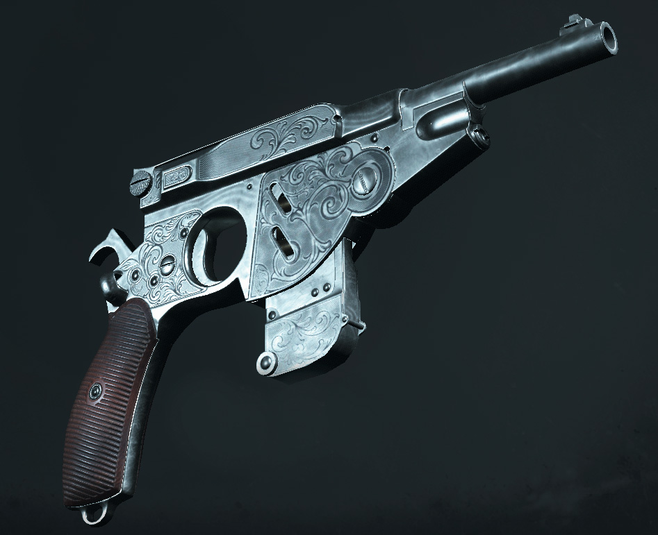 Легендарное оружие Solzer's Silver (Bornheim №3 Extended) в игре Hunt: Showdown