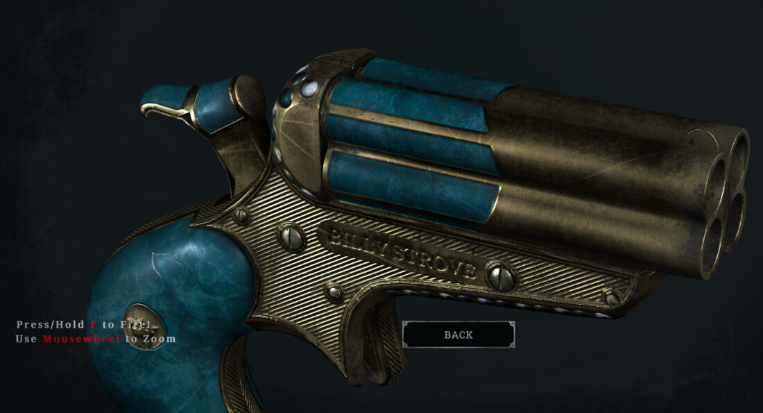 Легендарное оружие Storied Past (Quad Derringer) в игре Hunt: Showdown