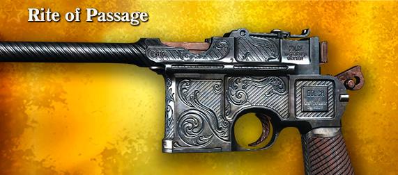 Легендарное оружие Rite of Passage (Dolch 96) в игре Hunt: Showdown