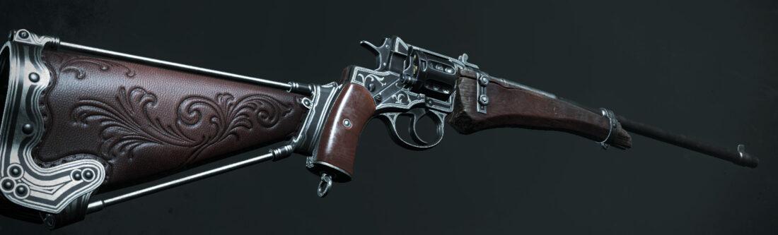 Легендарное оружие The Cordwainer (Nagant M1895 Officer Carbine) в игре Hunt: Showdown