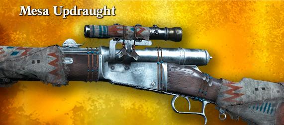 Легендарное оружие Mesa Updraught (Vetterli 71 Karabiner Deadeye) в игре Hunt: Showdown