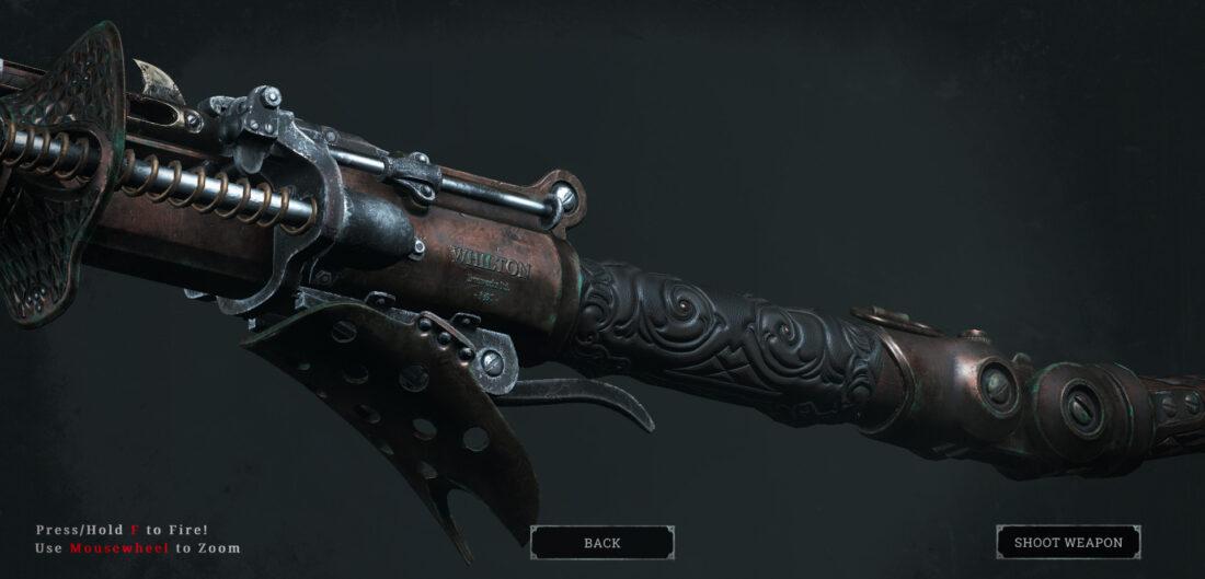 Легендарное оружие Shellback (Bomb Lance) в игре Hunt: Showdown
