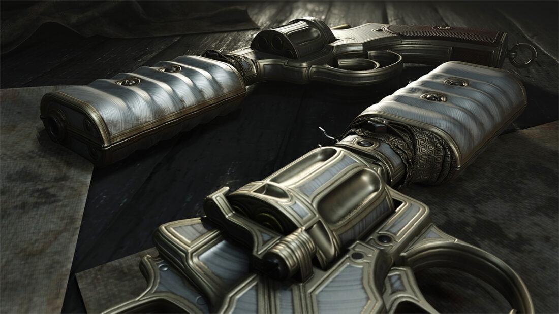 Легендарное оружие Spare Dime (Nagant M1895 Silencer) в игре Hunt: Showdown