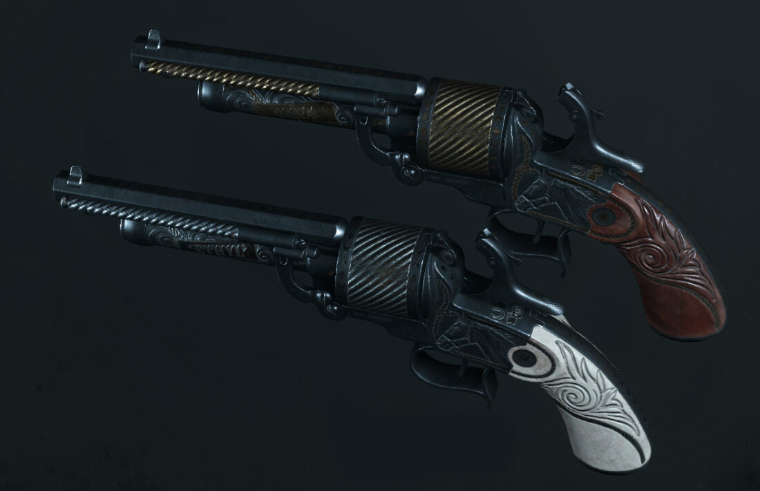 Легендарное оружие Dead Ringers (LeMat Mark II) в Hunt: Showdown
