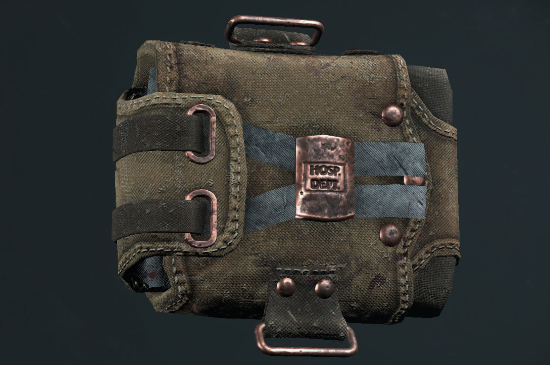 Легендарный облик LeMonnier's Kit (First Aid Kit) в Hunt: Showdown
