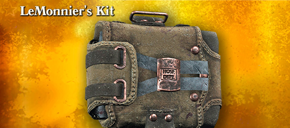 Легендарный облик LeMonnier's Kit (First Aid Kit) в Hunt: Showdown