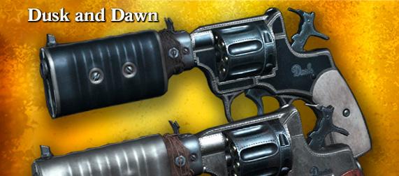 Dusk and Dawn для пары Nagant M1895 Silencer