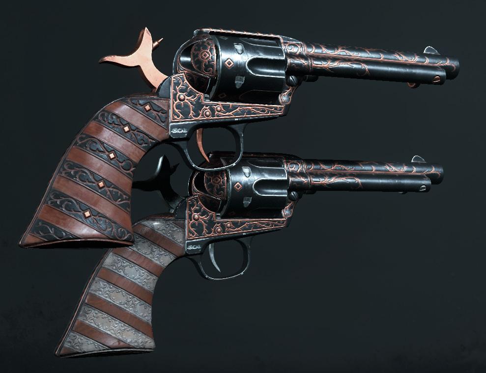 Легендарное оружие Jekyll and Hyde (Caldwell Pax)в Hunt: Showdown