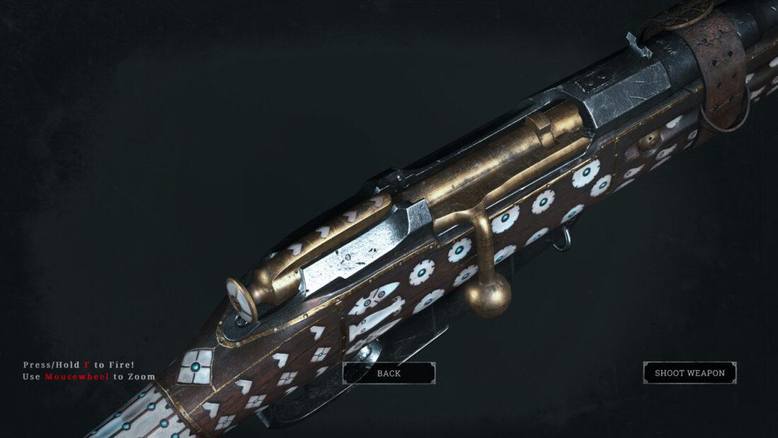 Легендарное оружие Sinners Jezail (Mosin-Nagant M1891 Obrez) в Hunt: Showdown