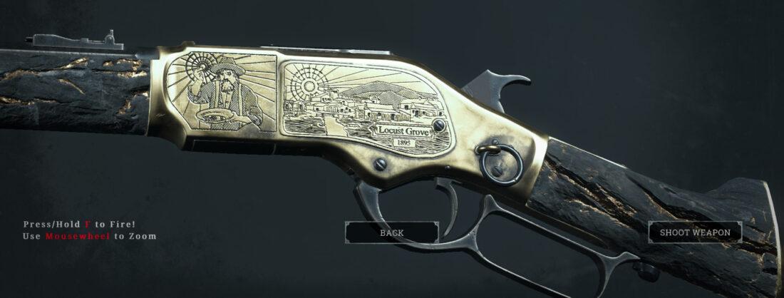 Легендарное оружие Gold Rush (Winfield M1873 C Vandal) в Hunt: Showdown