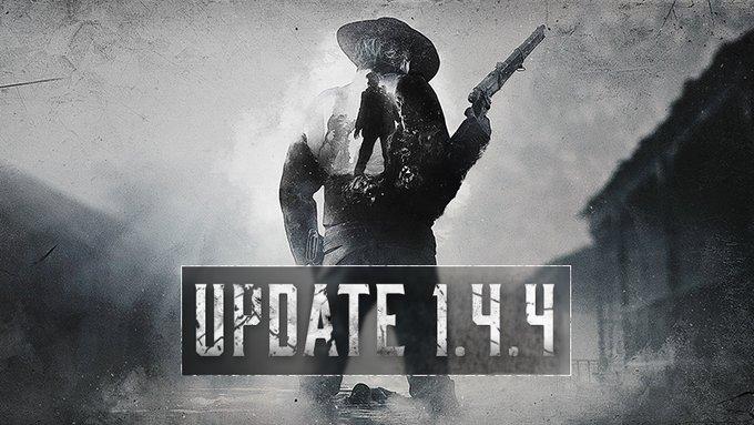 Обновление 1.4.4 установлено на основные сервера Hunt: Showdown