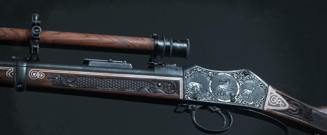 Легендарное оружие Oberon's Hound (Martini-Henry IC1 Marksman) в игре Hunt: Showdown
