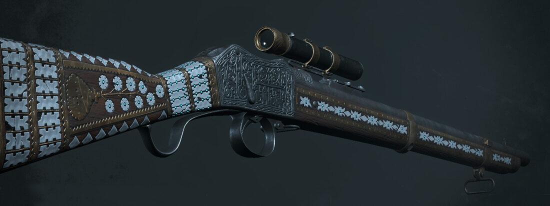 Легендарное оружие Sacrosanct (Martini-Henry IC1 Deadeye) в игре Hunt: Showdown