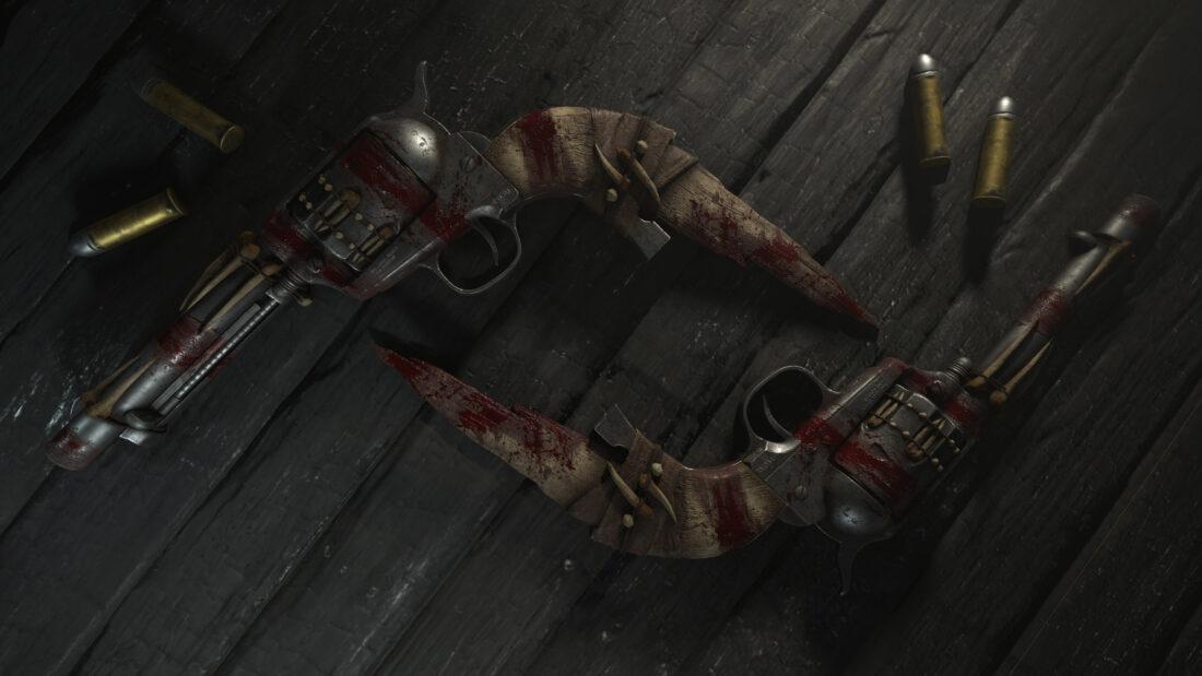 Легендарное оружие Skeleton Key (Heavy Knife) в игре Hunt: Showdown