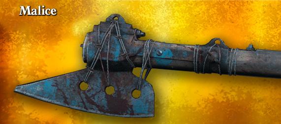 Легендарное оружие Malice (боевой топор) в игре Hunt: Showdown