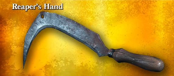 Легендарное оружие Reaper's Hand (Heavy Knife) в игре Hunt: Showdown