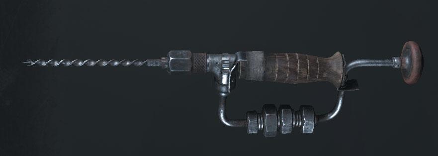 Легендарное оружие The Rasp (Knuckle Knife) в игре Hunt: Showdown