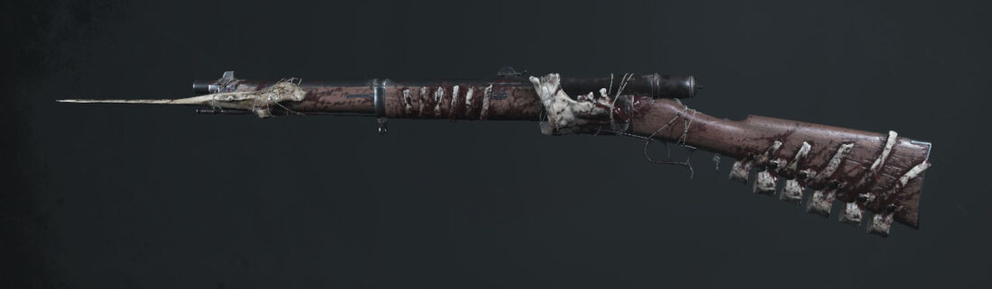 Легендарное оружие Backbone (Vetterli 71 Karabiner Bayonet) в игре Hunt: Showdown