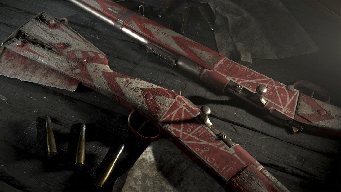 Легендарное оружие The Auger (Lebel 1886 Talon) в Hunt: Showdown