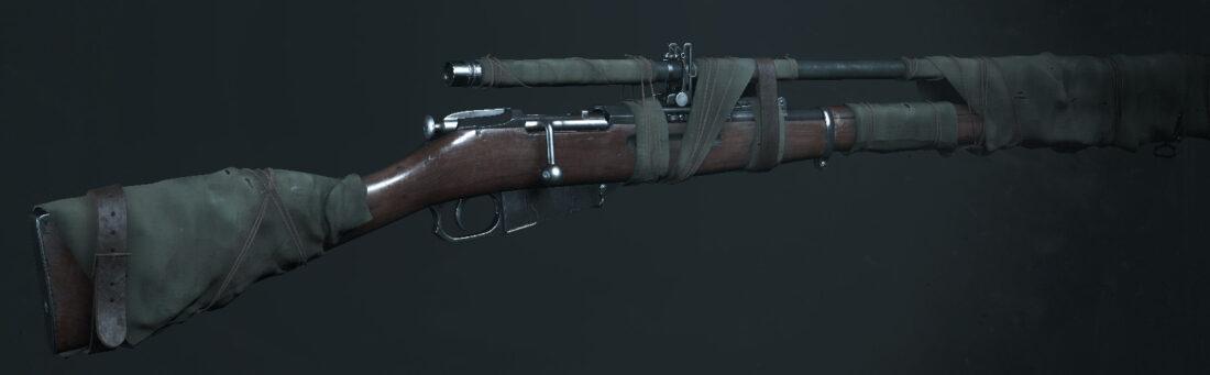 Легендарное оружие Hailstorm (Mosin-Nagant M1891 Sniper) в Hunt: Showdown