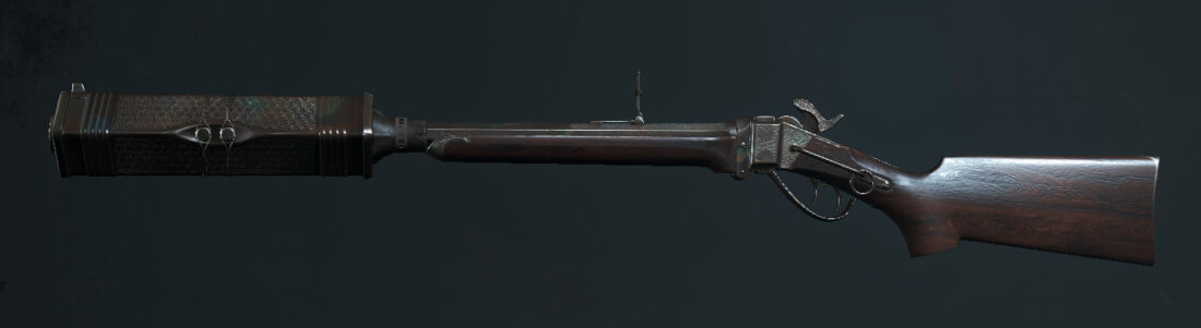 Легендарное оружие DeSalle's Silence (Sparks LRR Silencer) в Hunt: Showdown